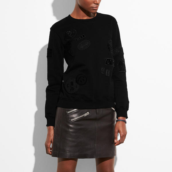 Space Patch Sweatshirt, $295, Coach