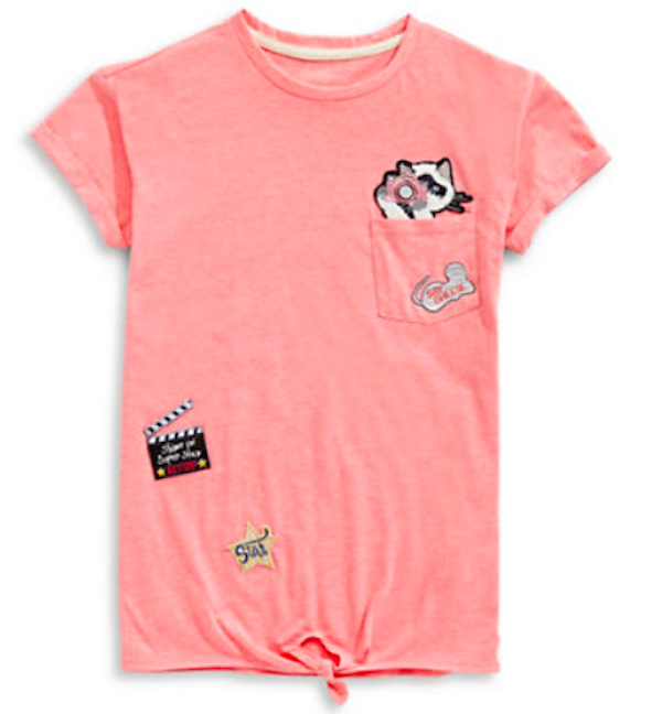 Jessica Simpson Kitty Patch Tee, $28, Hudson's Bay
