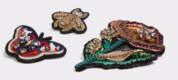 Sequin Sparkle Pins, $25, ALDO