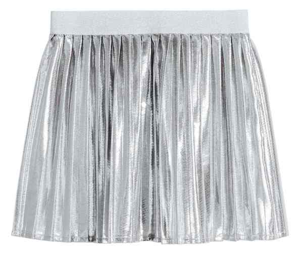 Shimmery Metallic Skirt, $17.99, H&M