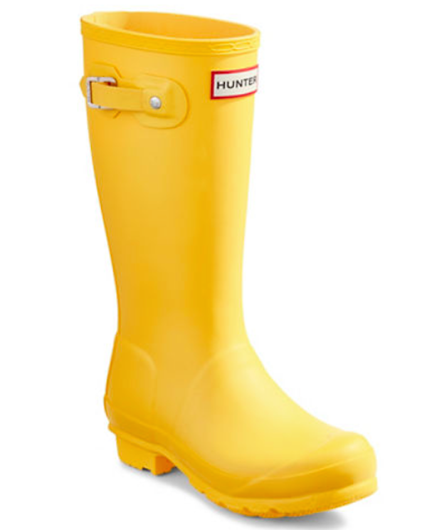 HUNTER Original Wellington Rain Boots, $95, Hudson's Bay