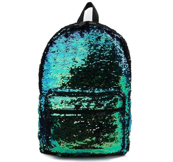 Sequin Two-Tone Backpack, Journeys