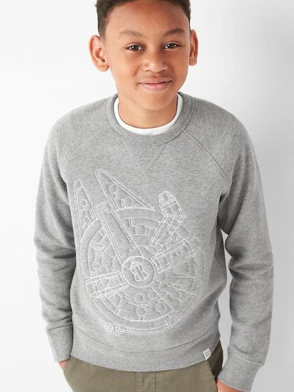 Star Wars Graphic Crew Sweatshirt, $32.95, GapKids