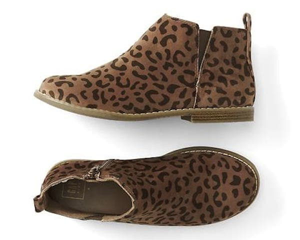 Cheetah Print Ankle Boots, $49.95, GapKids