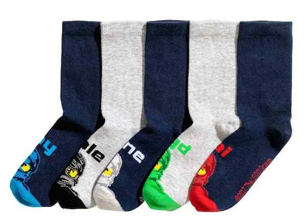 5-Pack Ninjago Socks, $14.99, H&M