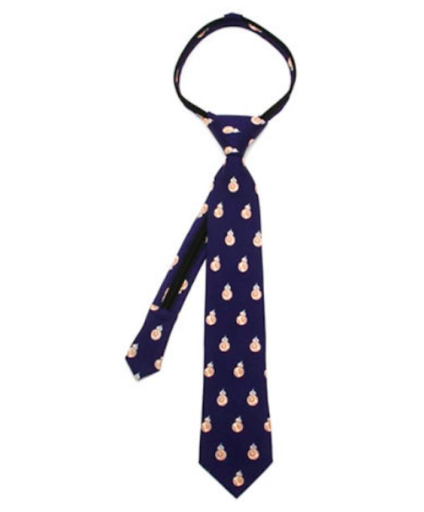 Cufflinks Inc. BB-8 Pre-Tied Silk Tie, $35, Hudson's Bay