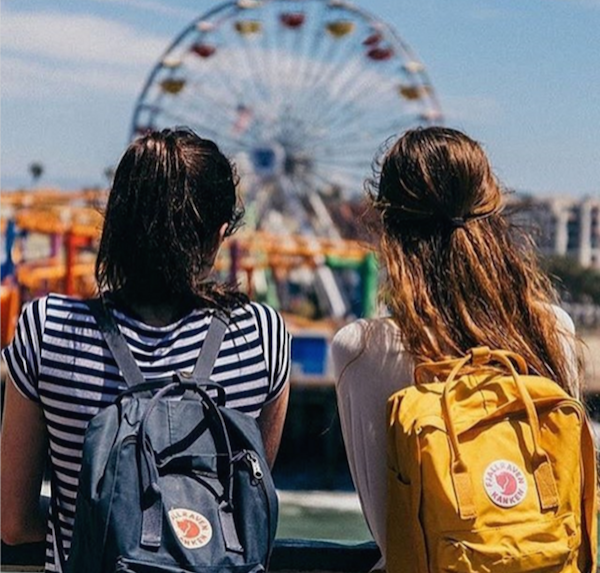 Saying bye to summer w Fjallraven Kanken backpacks via Blackwell Supply Co.