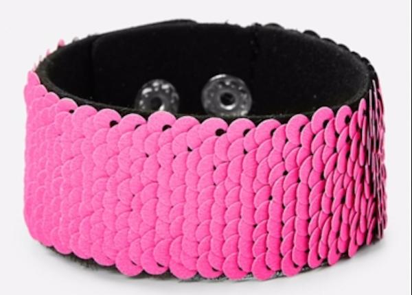 Flip Sequin Bracelet, Justice