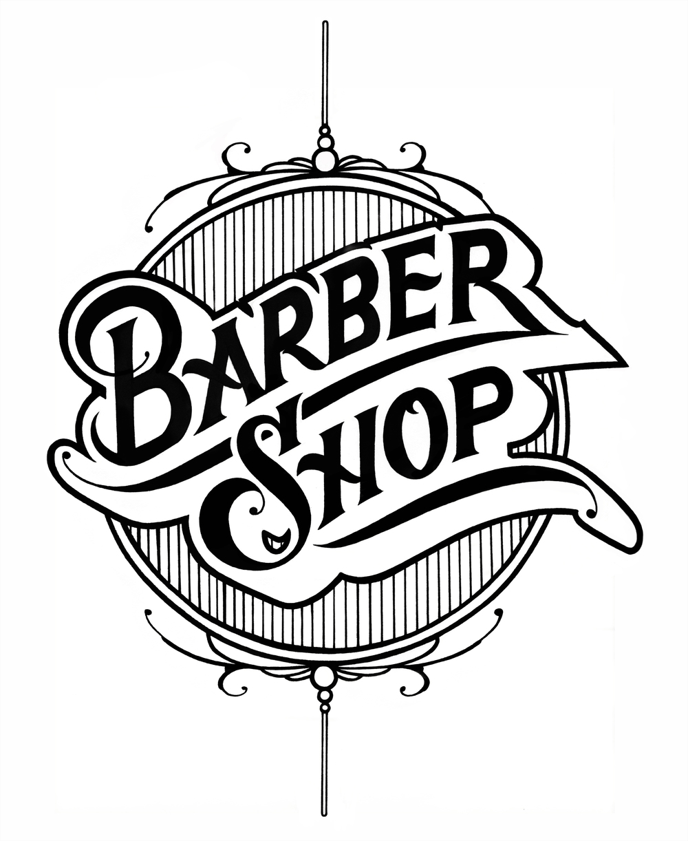 Barber Shop Logo Vector Png