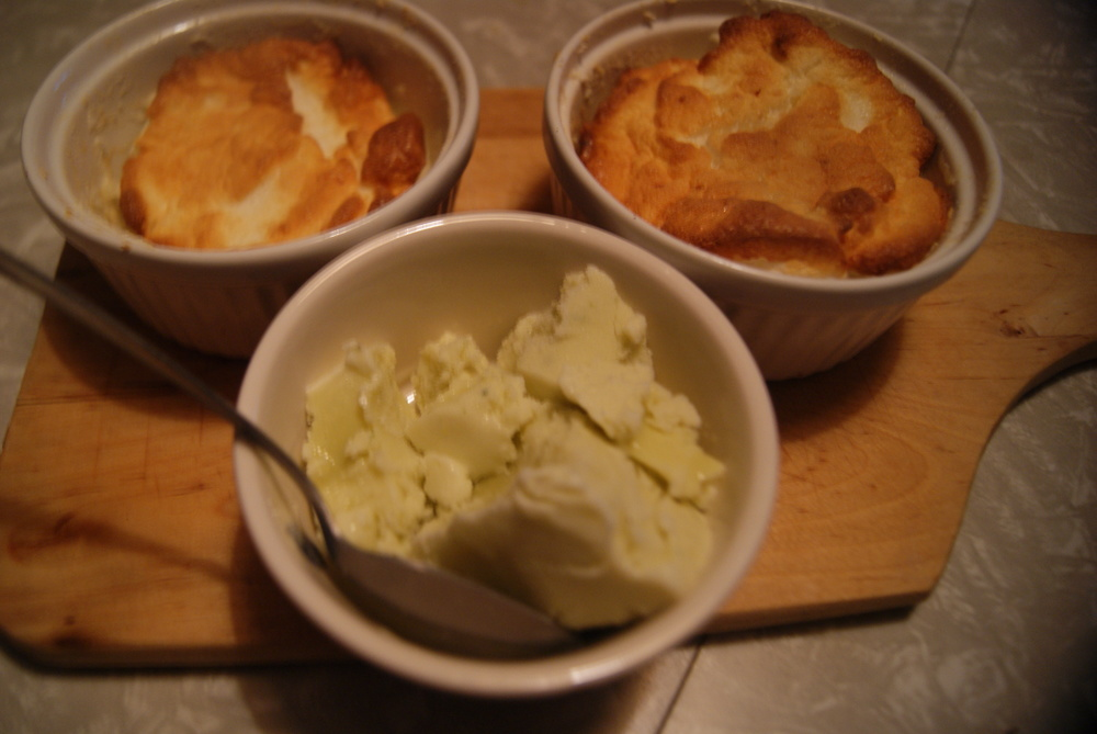 Top left and right: lemon egg white souffles. Yes, I know they fell, but they were still pretty damned delicious, airy and not at all bad for you health-wise. They complemented the basil ice cream (bottom center) quite nicely. Recipe will possibly one day follow if there's interest.
