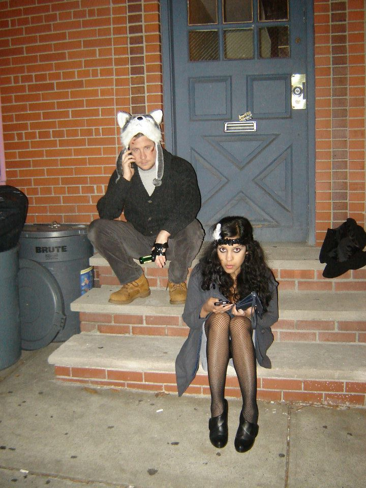 That year Jimmy and I, dressed up as, respectively, the movie The Grey and a flapper. Total couples' costume win, I know.