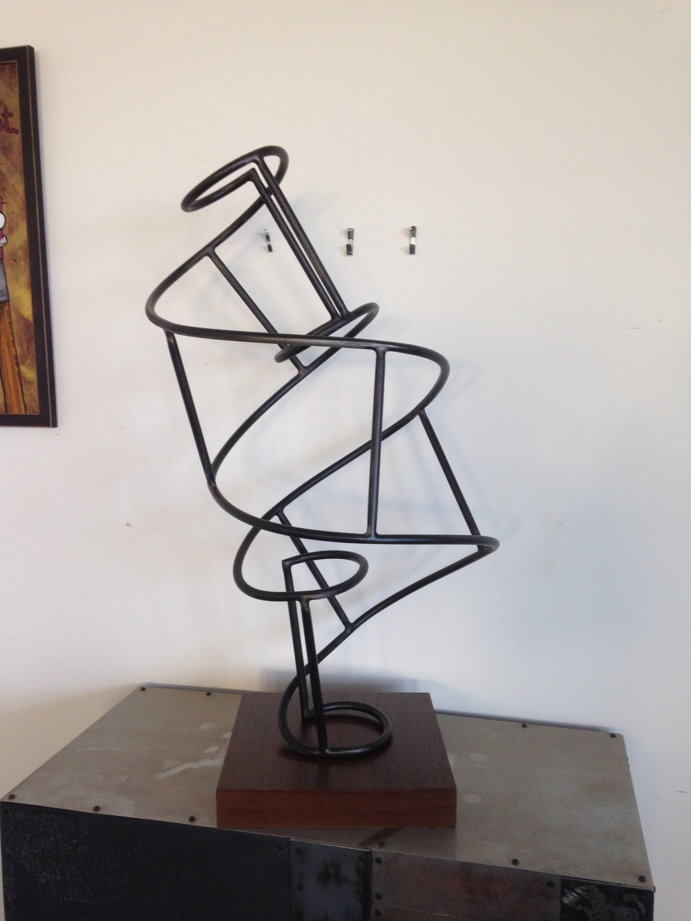 Sculpture for Kevin Berry Fine Art Associates. Sold to some hotel in somewhere USA.