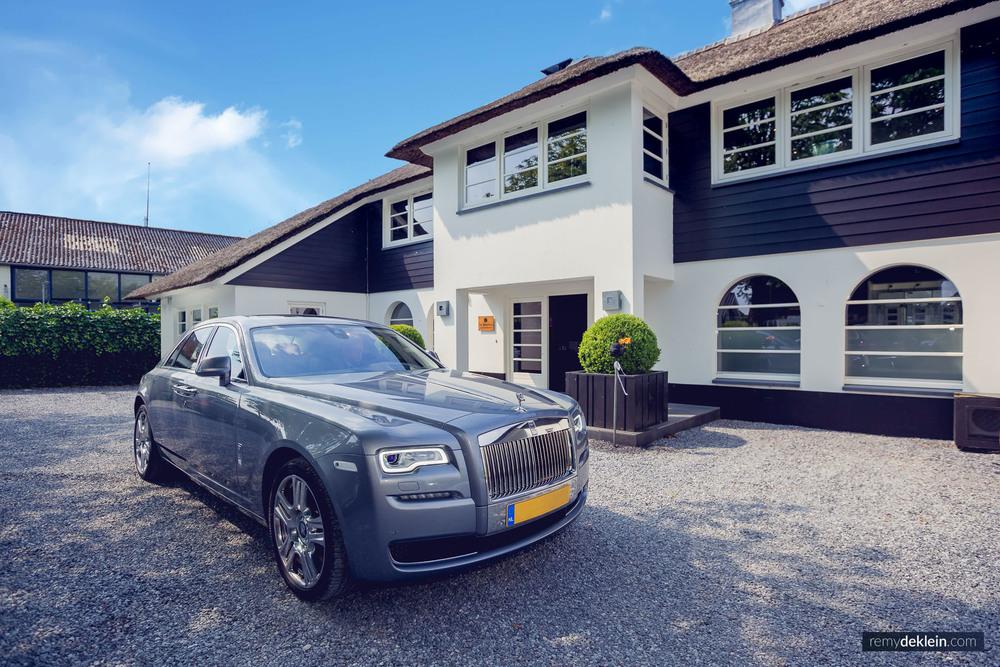 Trouwerij Rolls Royce Villa Finley