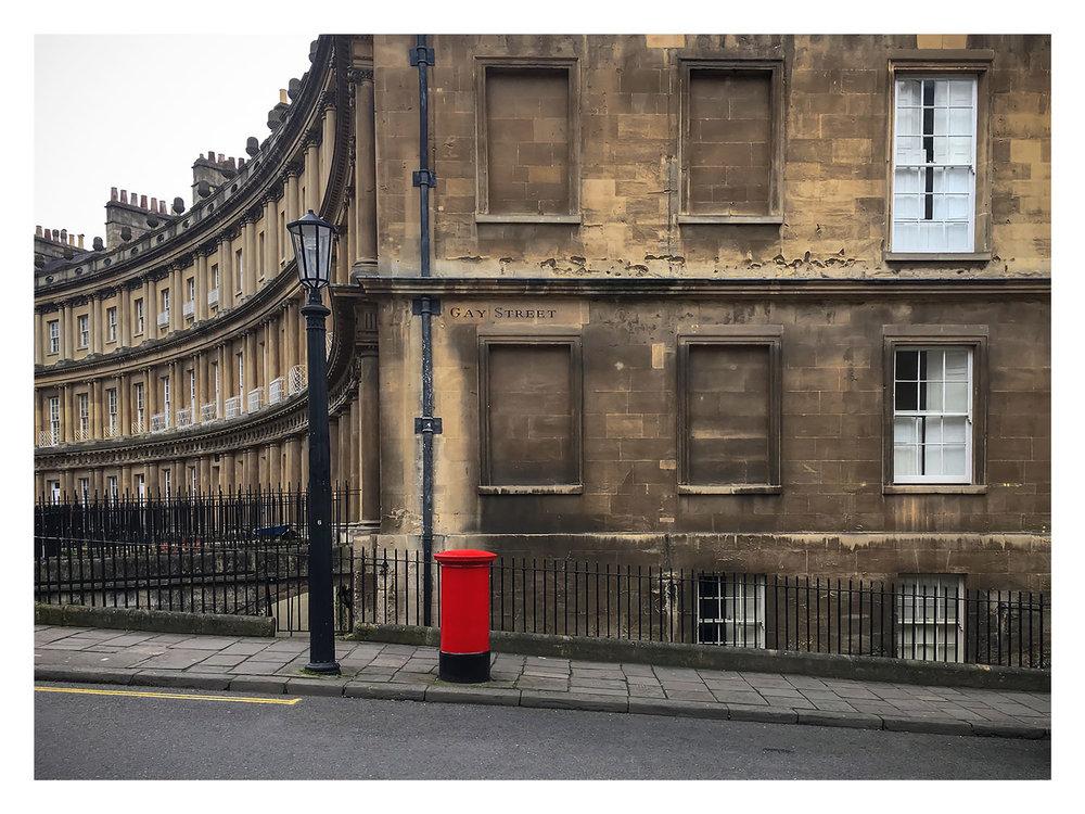 Gay Street, Bath.