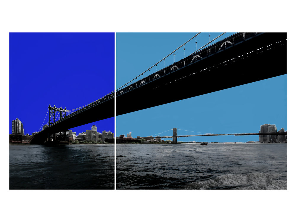 2 Bridges, 2 Blues.