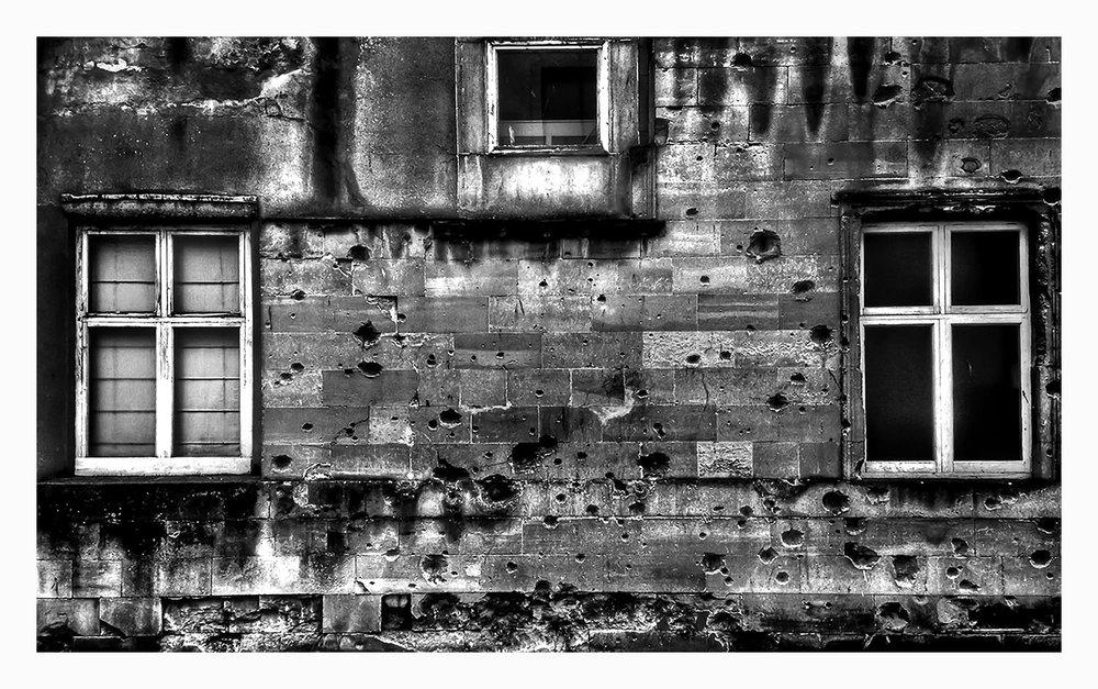 James Street West WW2 Bomb Damage.