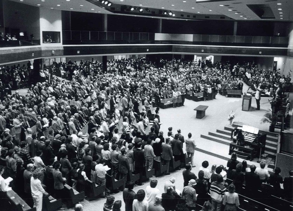 Conference at Sherwood Park Alliance Church. (1983)