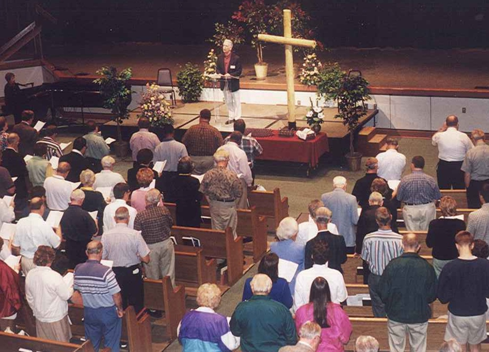 Heart-Cry for Revival Conference with Ron Owens leading singing. (May 2000)