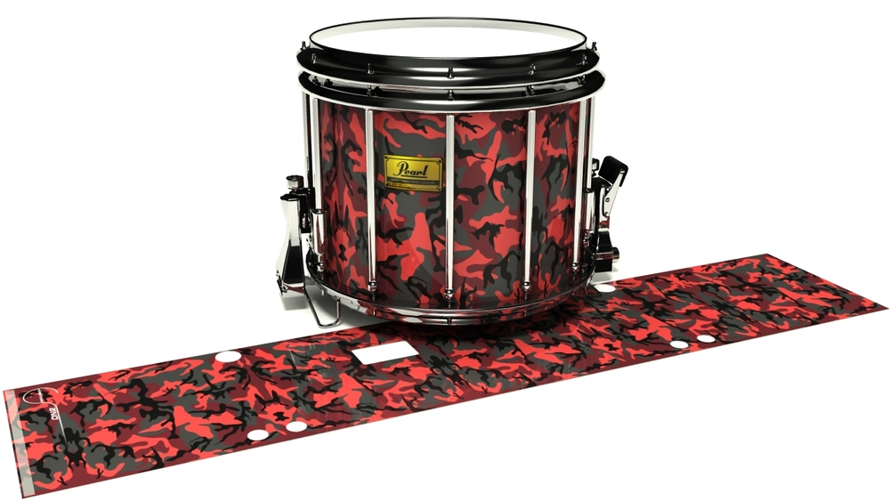 Red Slate Traditional Camouflage