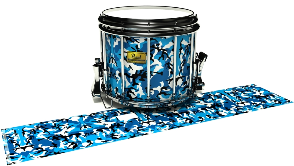 Sky Blue Traditional Camouflage