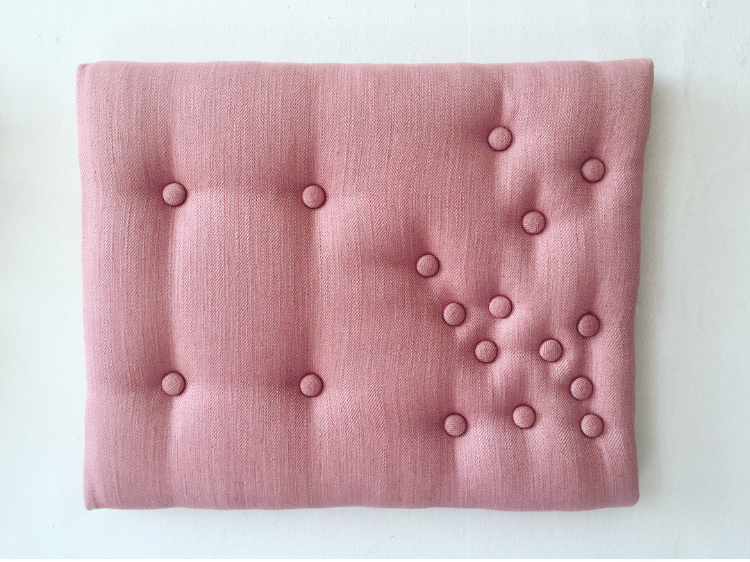 Distraction, 2016  Upholstery  40x50cm