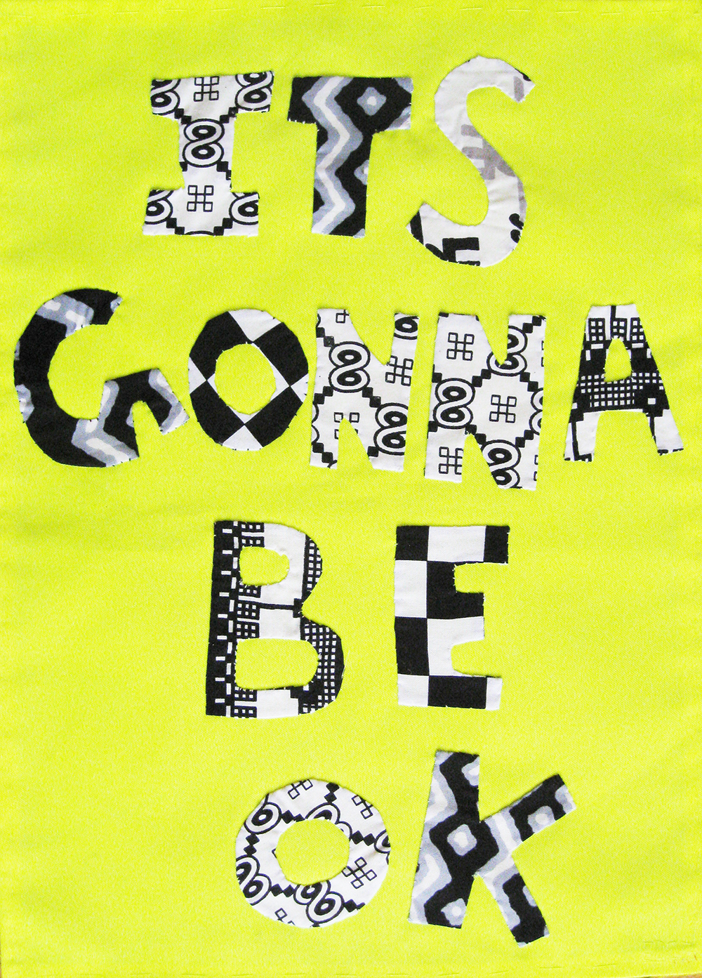 Textile collage. 2007