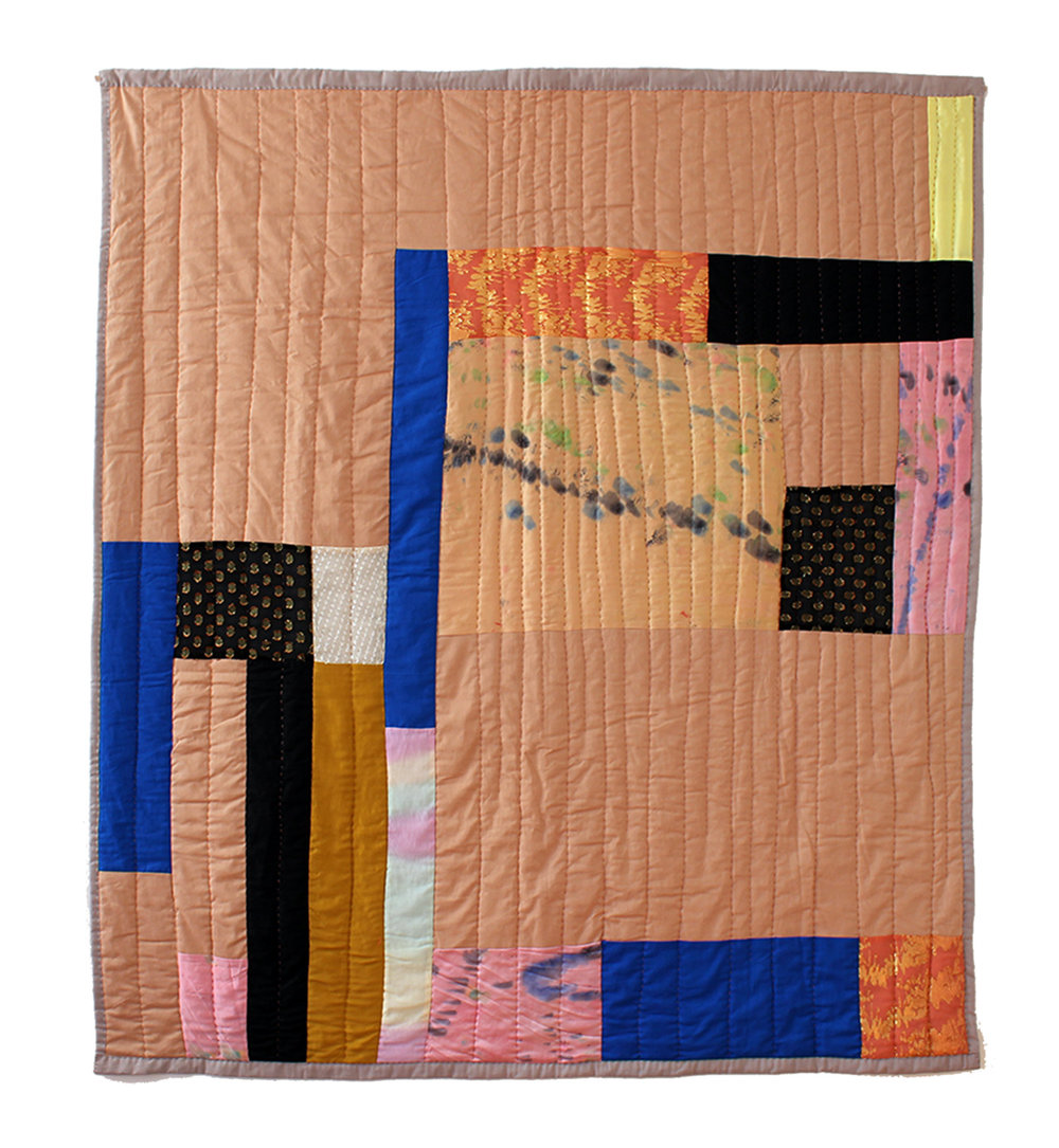 Textile quilt wall hanging. 2015