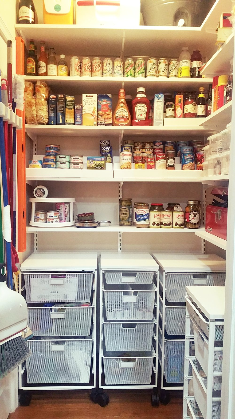 Design Elfa Pantry design portfolio claudia mb consulting after