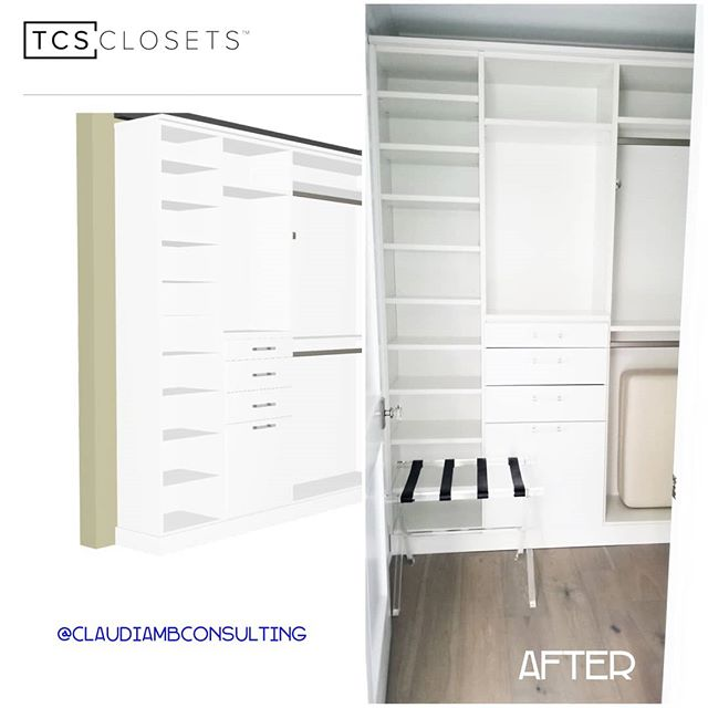 #TBT When dreams become reality #anotherhappyclient #closetgoals #TCSClosets #HotelLiving #PrivateResidences  #ClaudiaMBConsulting #SpaceDesigner #EntertainmentandLifestyleConsultant #Luxuryclosetdesign #ContainedHomeOrganizer #currentdesignsituation