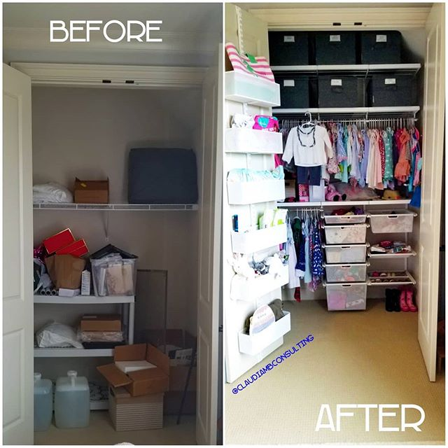 #TransformationTuesday This second time #MomToBe needed help transitioning her 2-year-old daughter into her #BigGirlRoom in order to prepare for her newest arrival that was due any day.  While this little #princess was preparing to become a #BigSister for the first time, @claudiambconsulting transformed a former #storage #closet in her new bedroom into a space fit for a #queen ! #kidsroom #MoreSpace #ClaudiaMBConsulting #EntertainmentandLifestyleConsultant #SpaceDesigner #ContainedHomeOrganizer #smallspaces #toddlerfashion #currentdesignsituation
