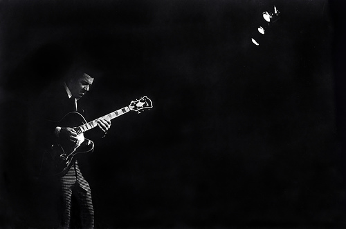 Kenny Burrell photo by Tom Marcello