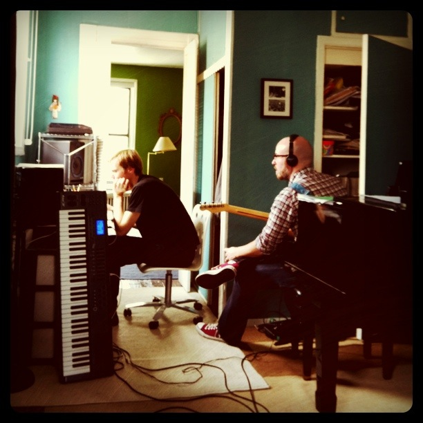 Recording with Little Grey Girlfriend - NYC guitarist Cameron Mizell