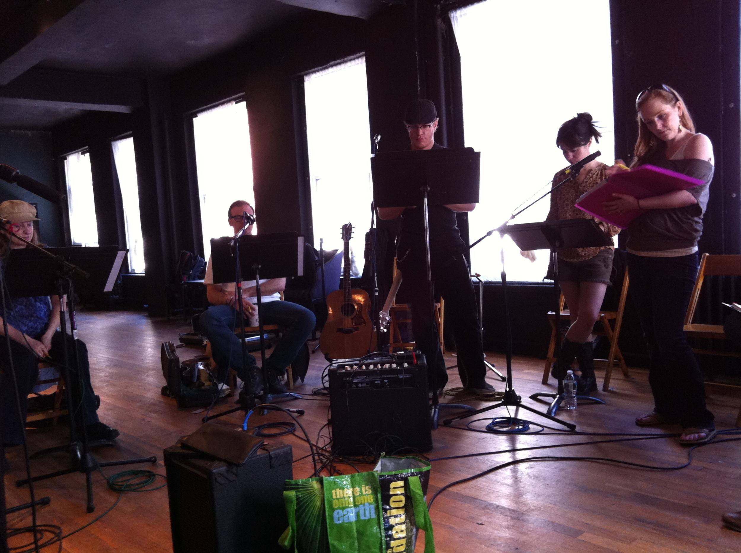Rehearsing Son of a Gun - NYC guitarist Cameron Mizell
