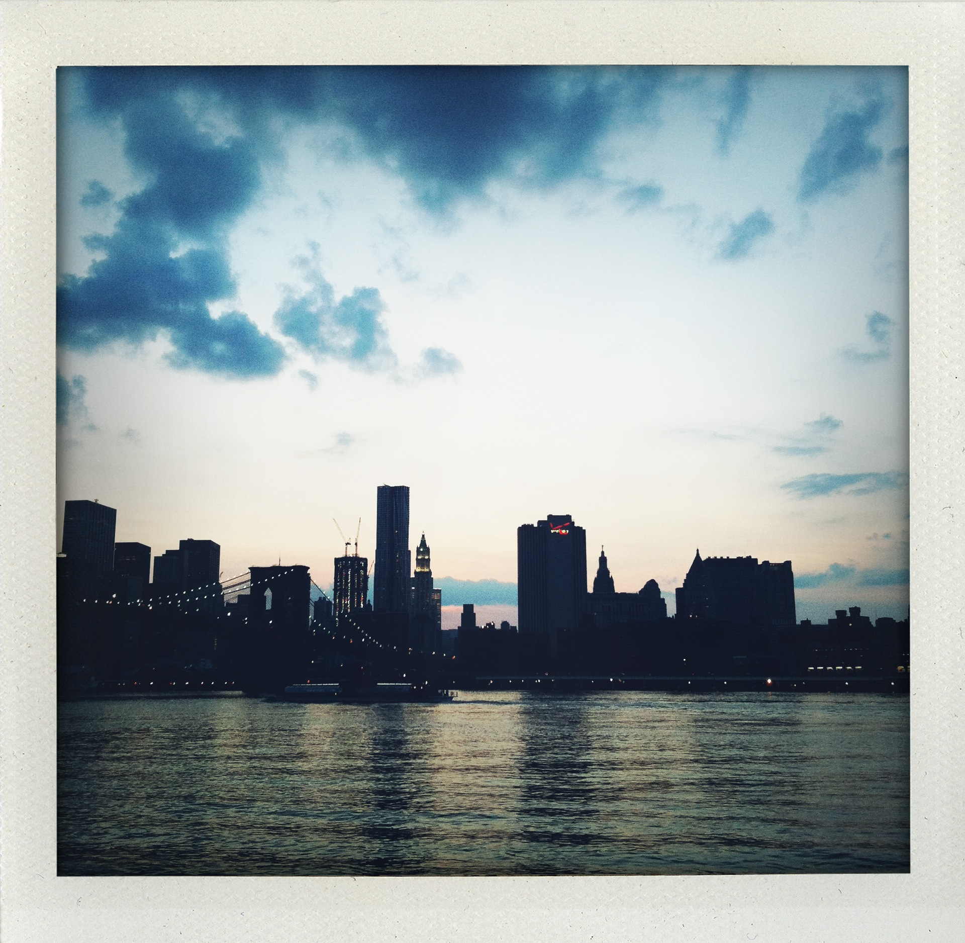 New York Skyline - Guitarist Cameron Mizell