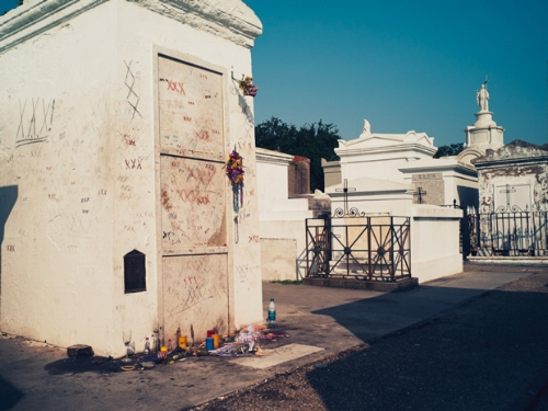 St. Louis Cemetery Photo Credit:  The-Line-Up.com