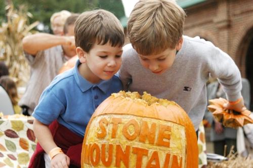 Stone Mountain Pumpkin Festival:  ClassicMommy.com