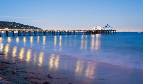 Malibu Pier image courtesy of Fine Art America