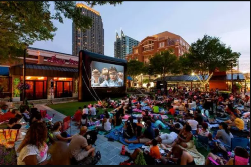 Movies in Central Park