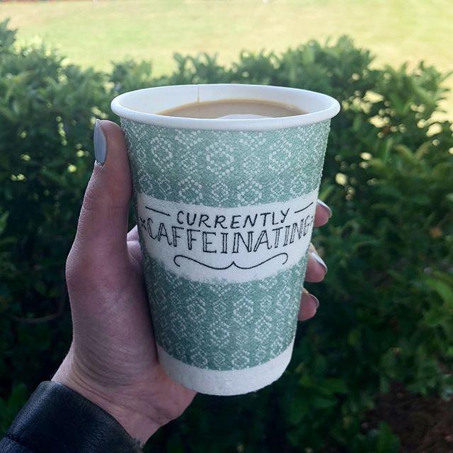 Shhhh...still caffeinating. ☕️ #BOFCreative