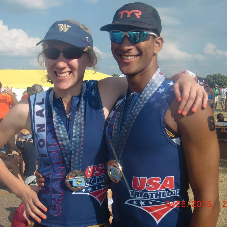 Jeevan, Brianna and Jason all qualified to race for Team USA at the 2016 ITU Long Course Triathlon World Championships. Both Brianna and Jeevan won their respective age groups.