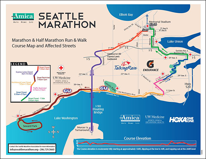Husky Triathletes Run The Seattle Marathon University of