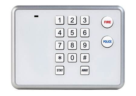 Secondary Keypad