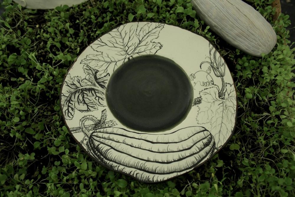 Delicata Squash Plate