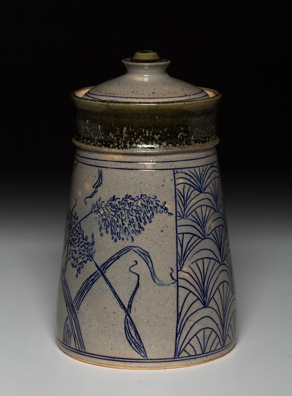 Wild Grass Jar