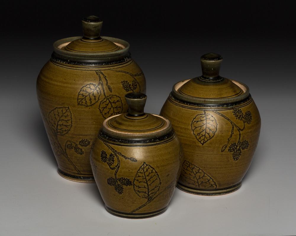 Amber Alder Jars