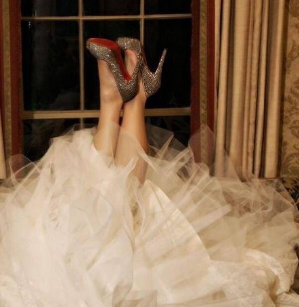 Luis Vitton Wedding Shoes