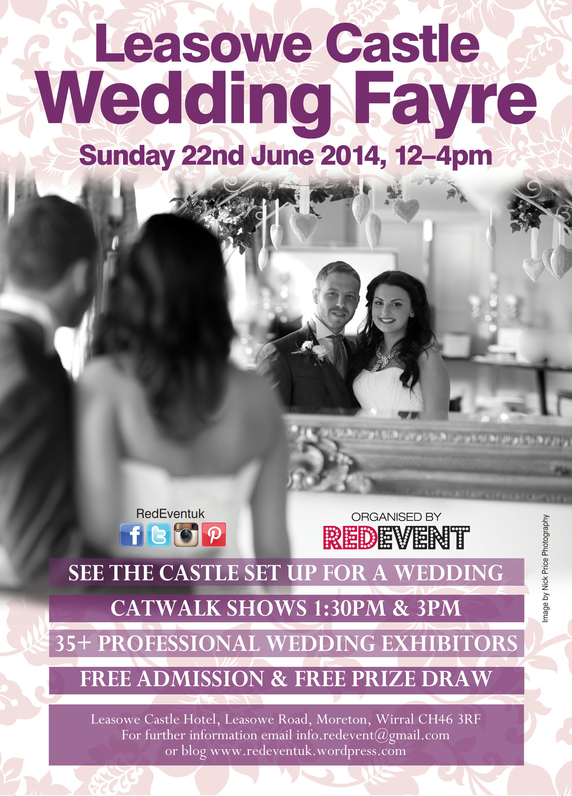 Leasowe Castle Wedding Fayre Sunday 22nd June 2014