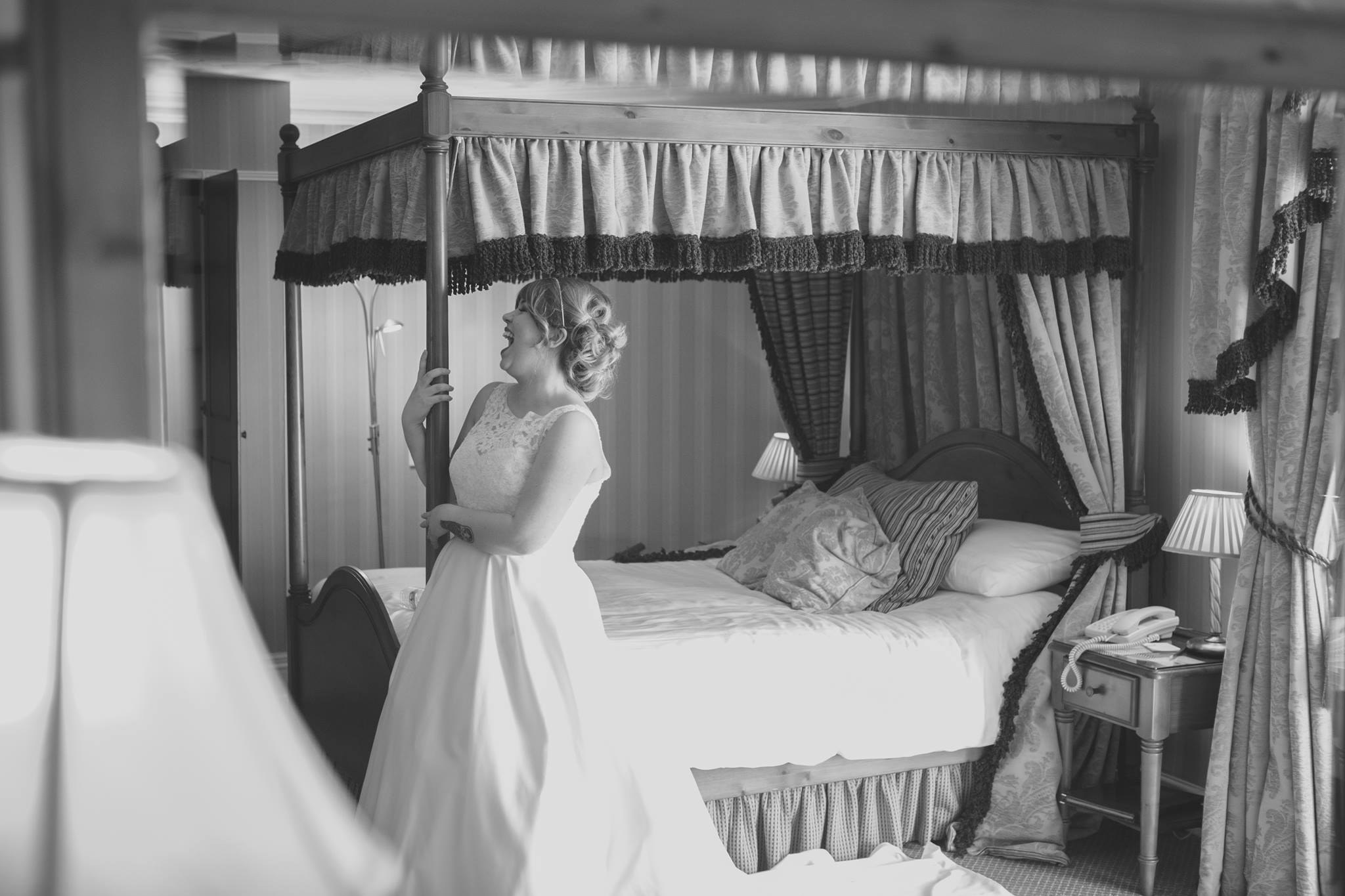 Bridal Suite at Leasowe Castle. Image by Ellison Photography