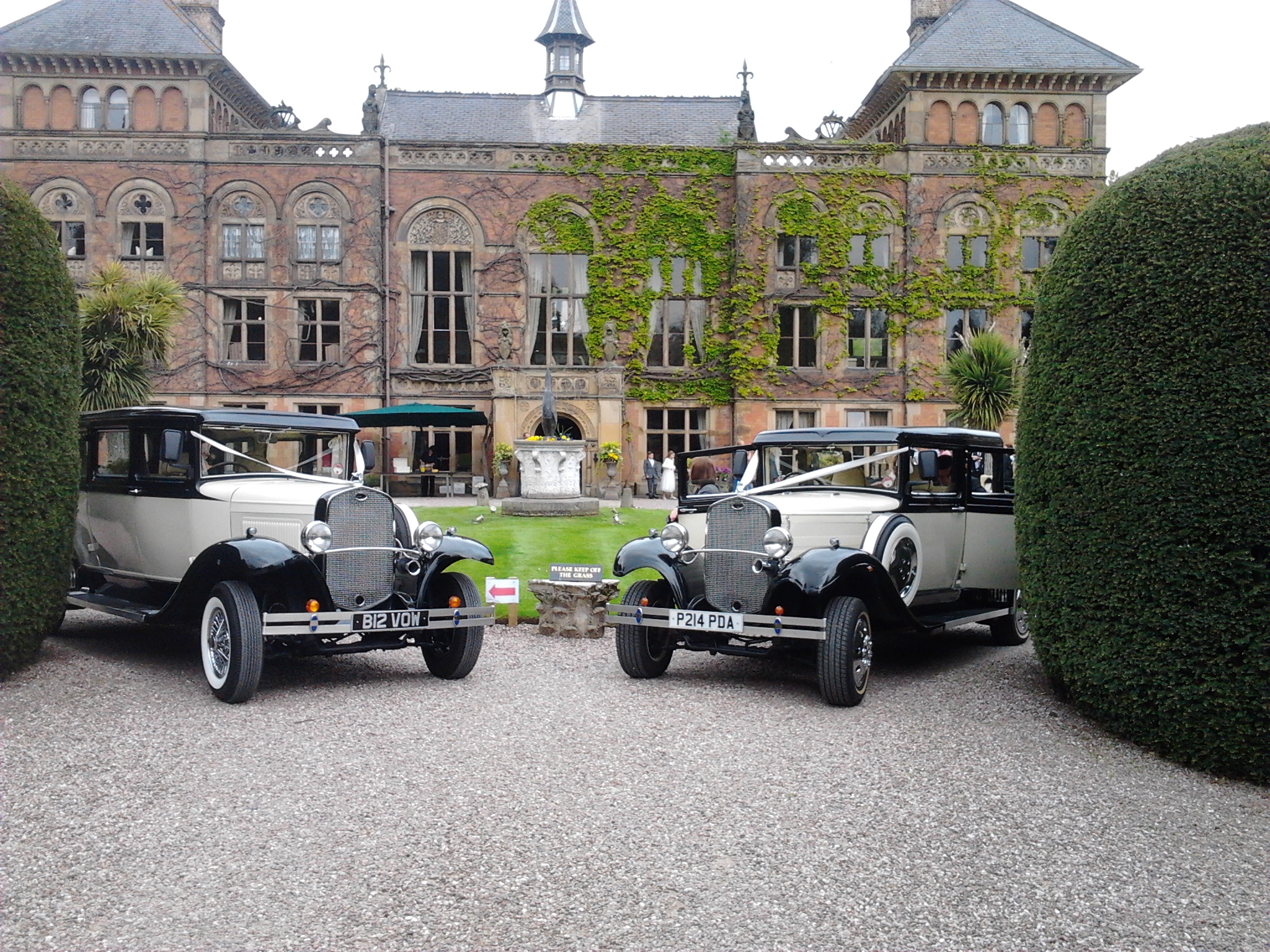 Anniversary Cars Special Offer for The Red Event Wedding Fayre at Leasowe Castle Hotel, Wirral 22nd June 2014