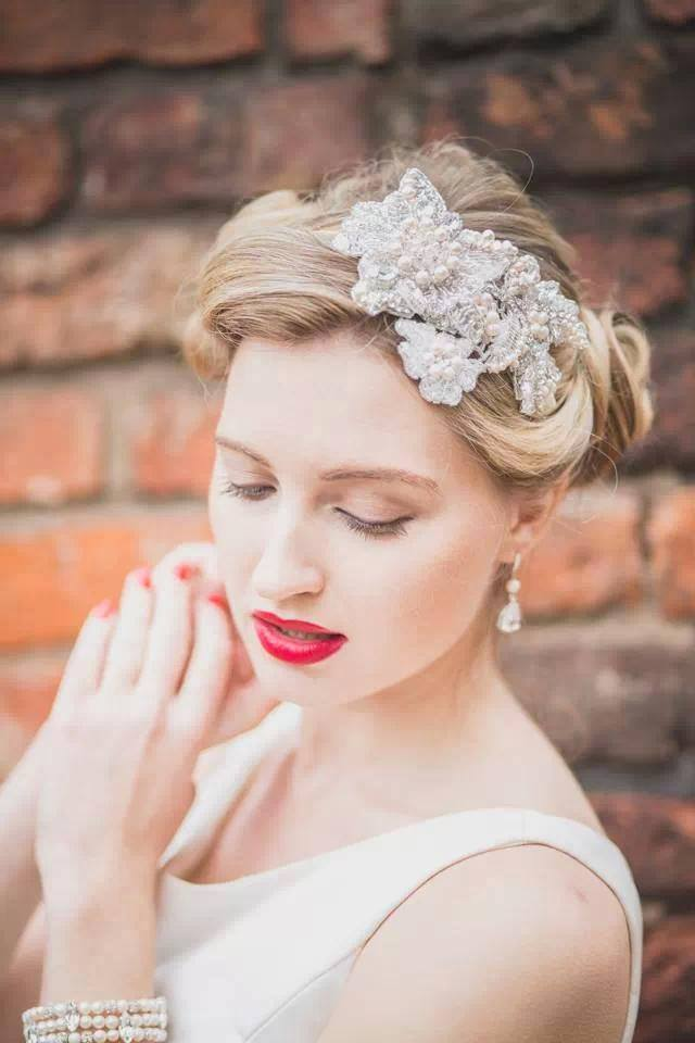 Carol Ellis Thompson Hair Special offer at Leasowe Castle Wedding Fayre Wirral Red Event